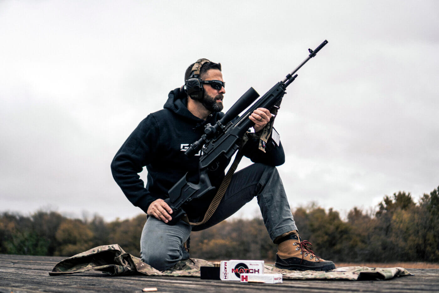 Armageddon Gear and M1A Loaded Precision Rifle in 6.5 Creedmoor