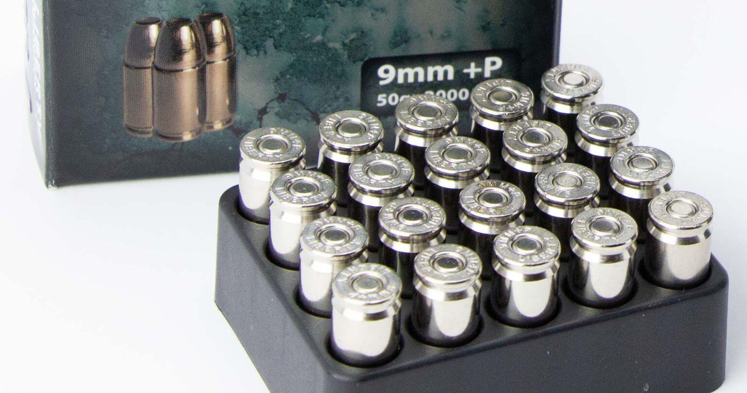 9mm personal defense ammunition