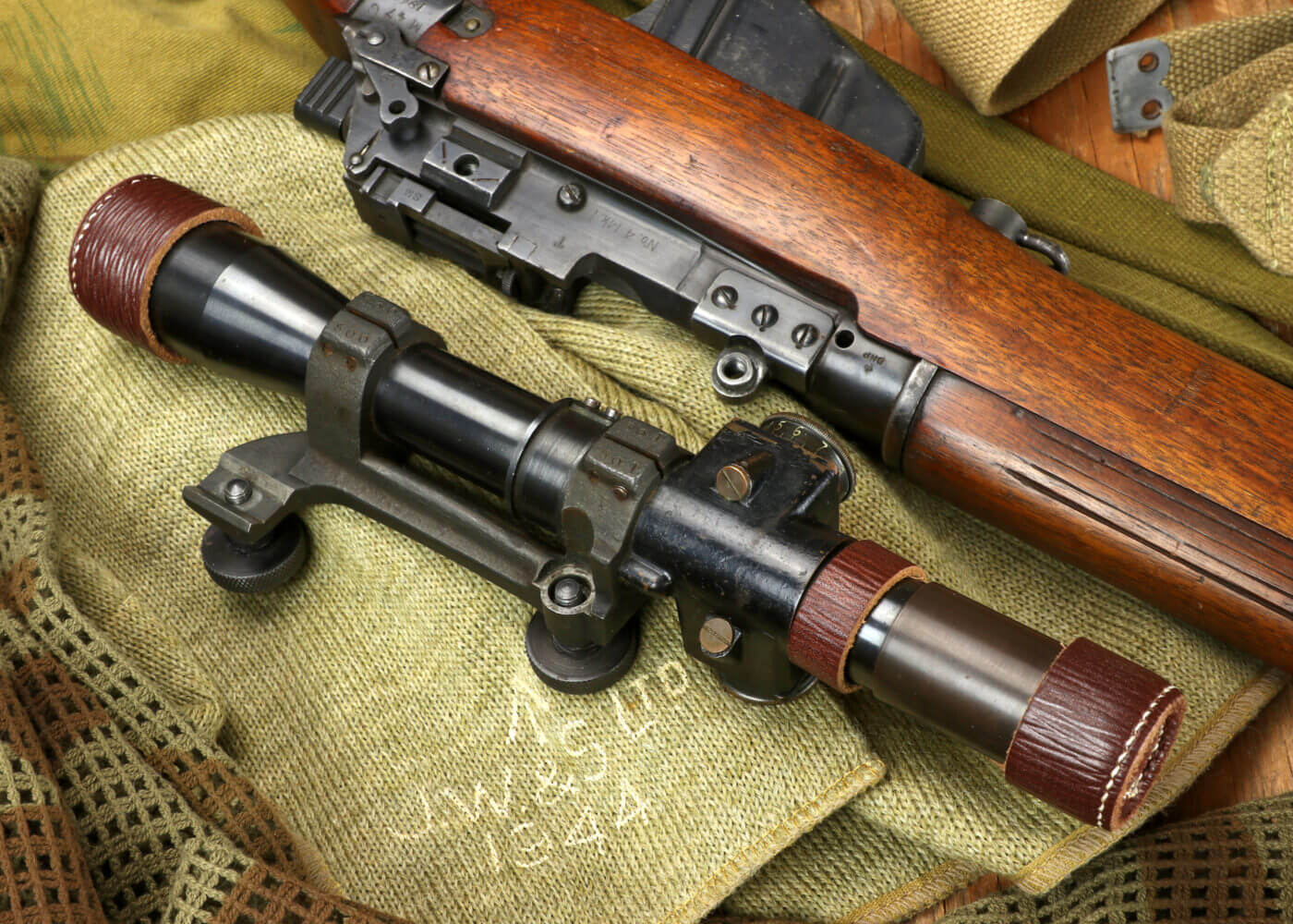 Enfield No. 4 (T) Sniper scope