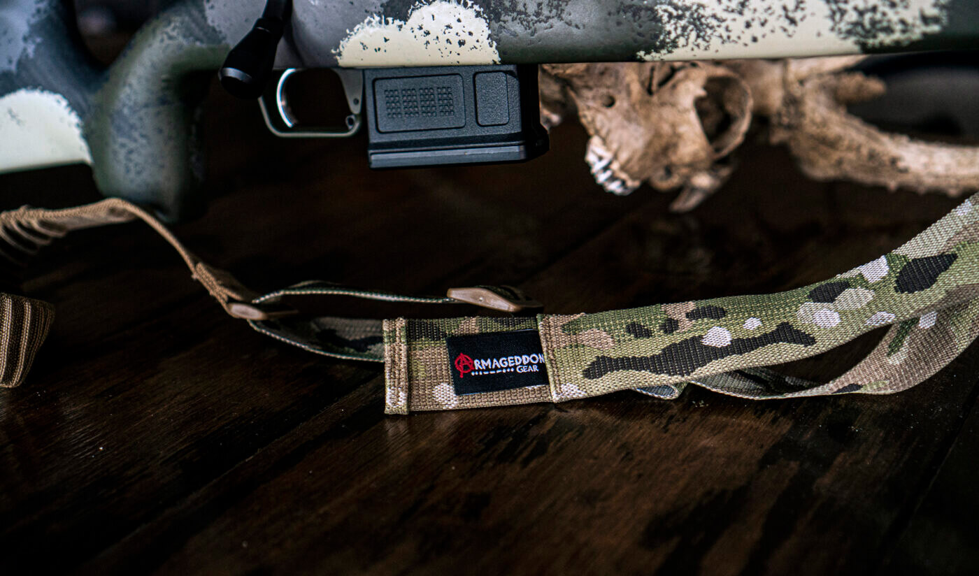 Springfield Armory Model 2020 Waypoint with Armageddon Gear Precision Rifle Sling
