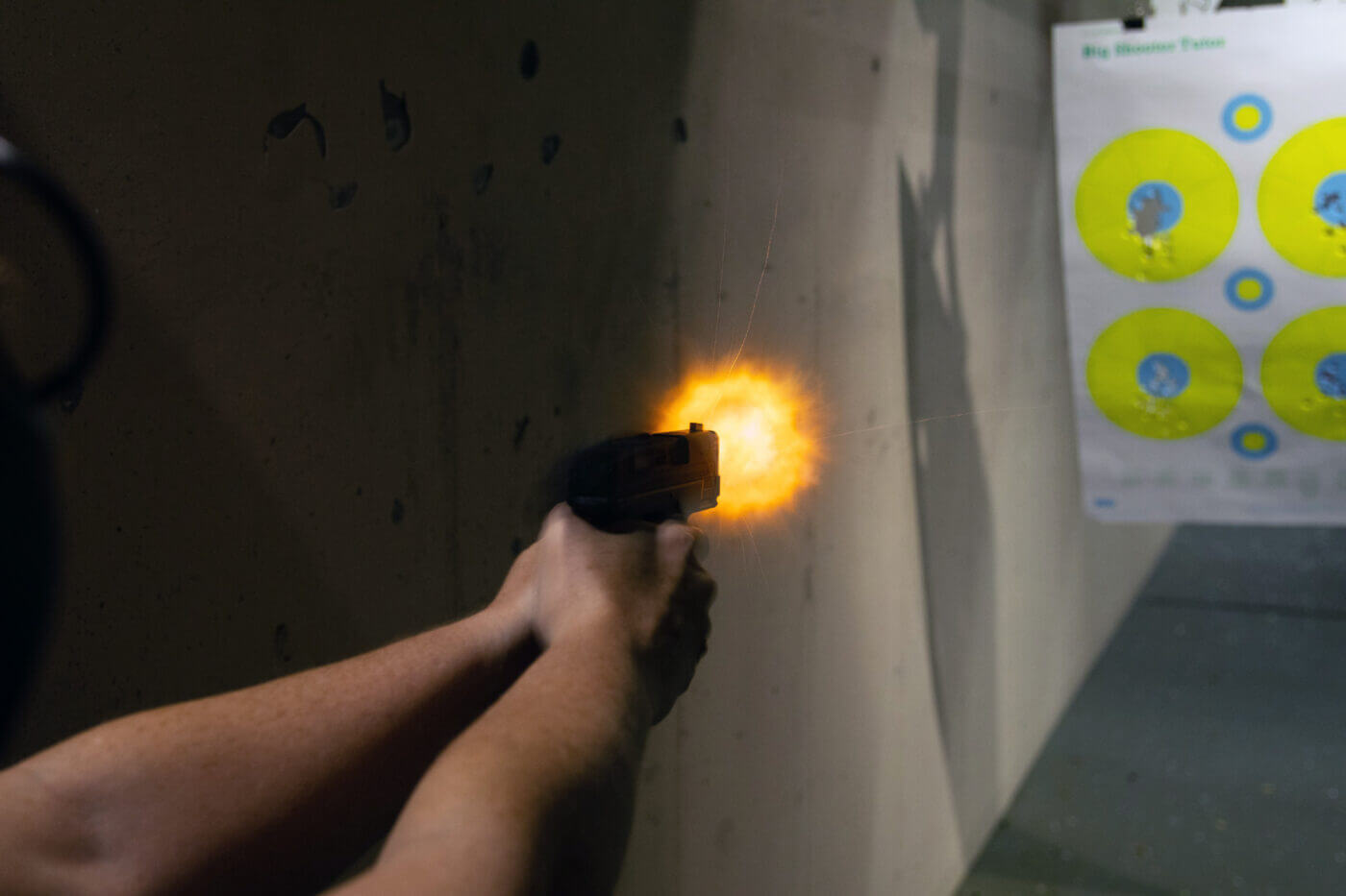 XD-S 9mm at the range