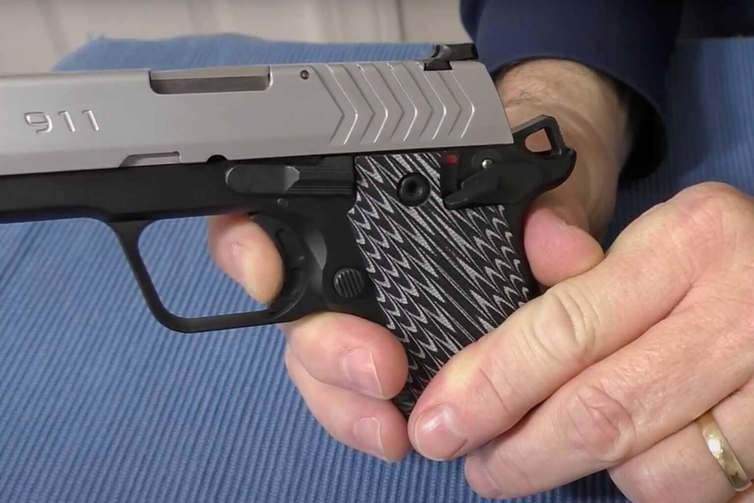 G10 Trigger on Springfield 911 Pistol