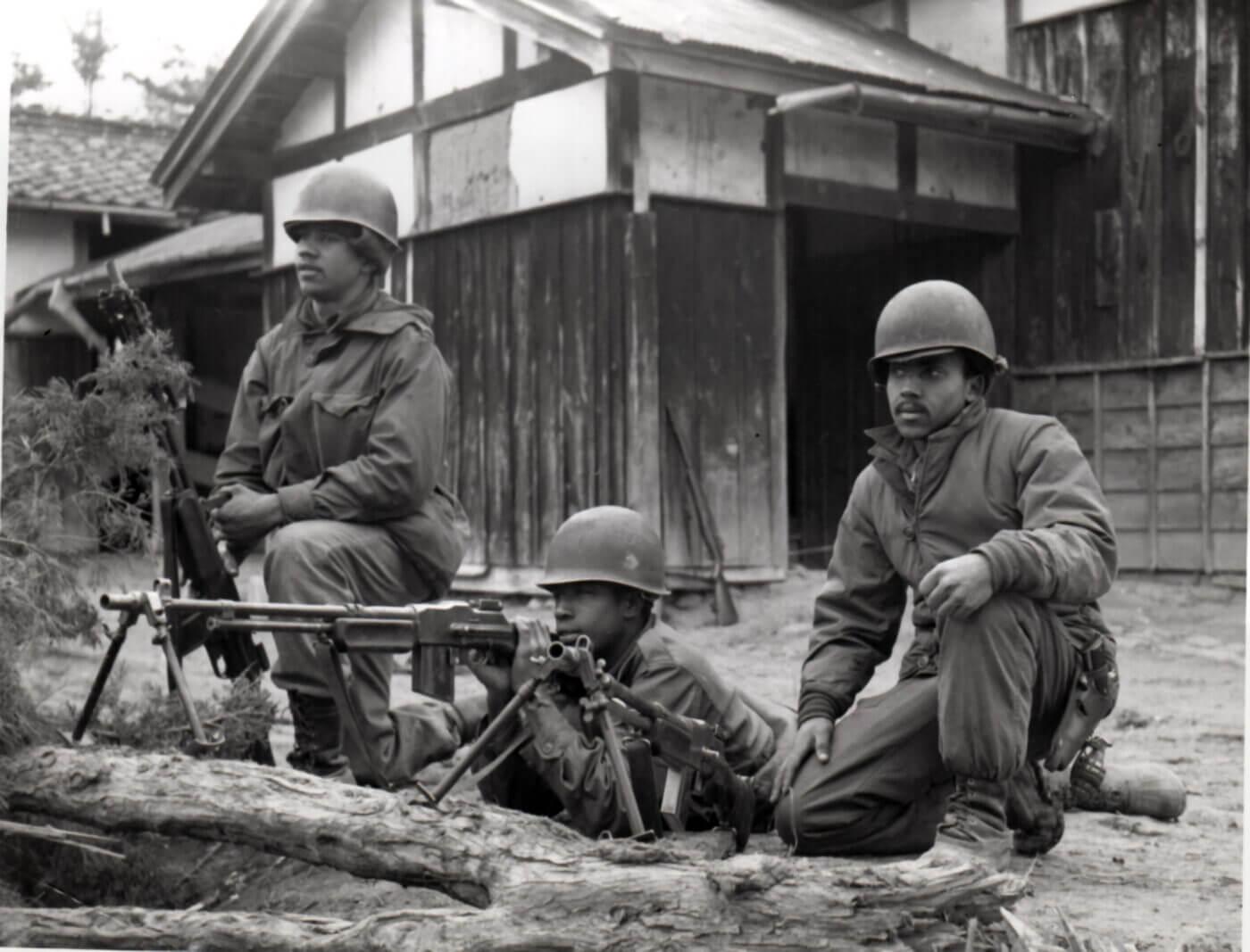 BAR in Korean circa 1951