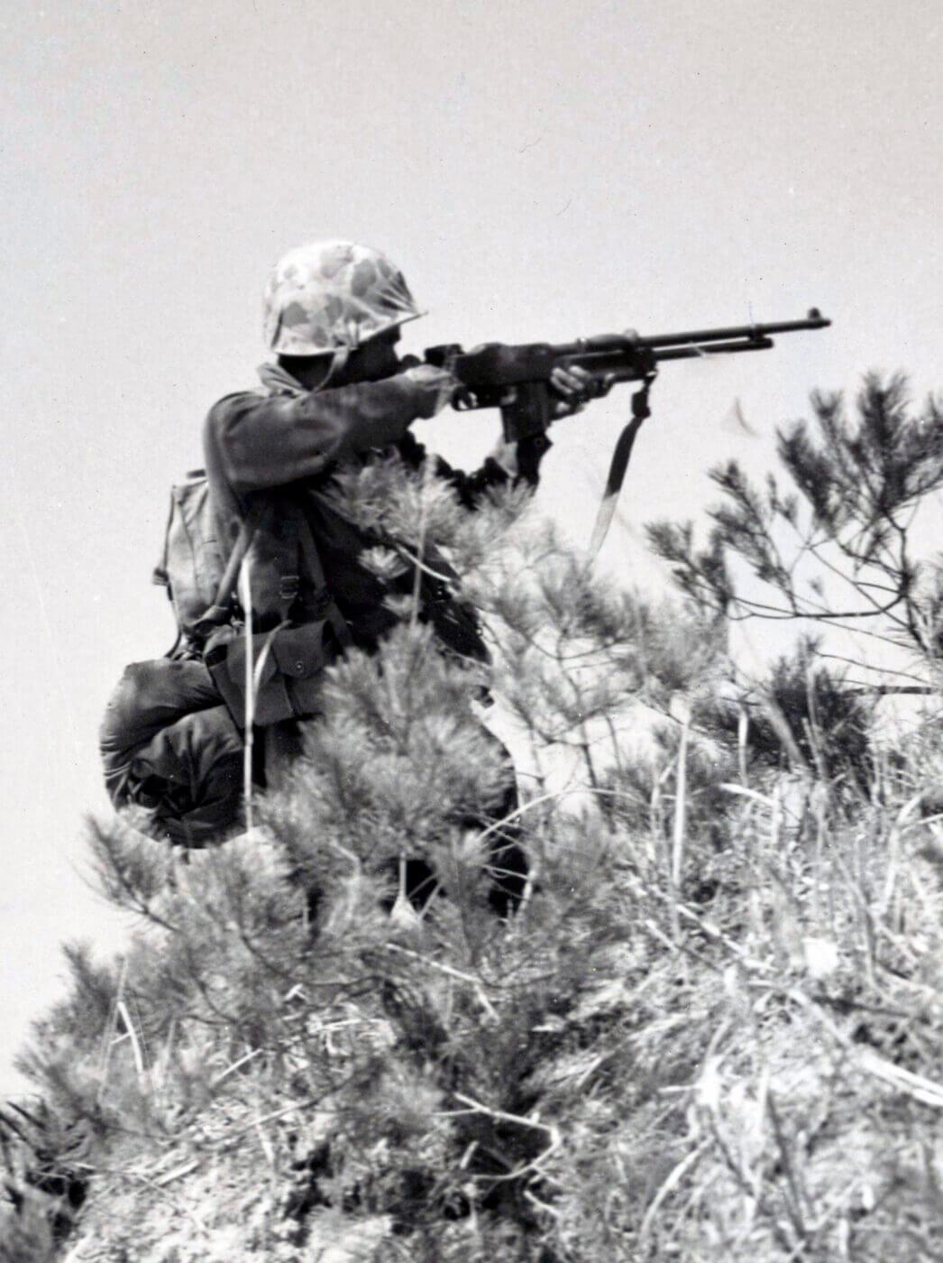BAR rifle in Korea