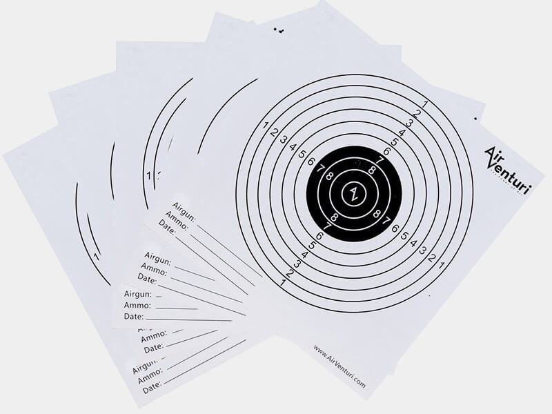 Air Venturi Paper Targets