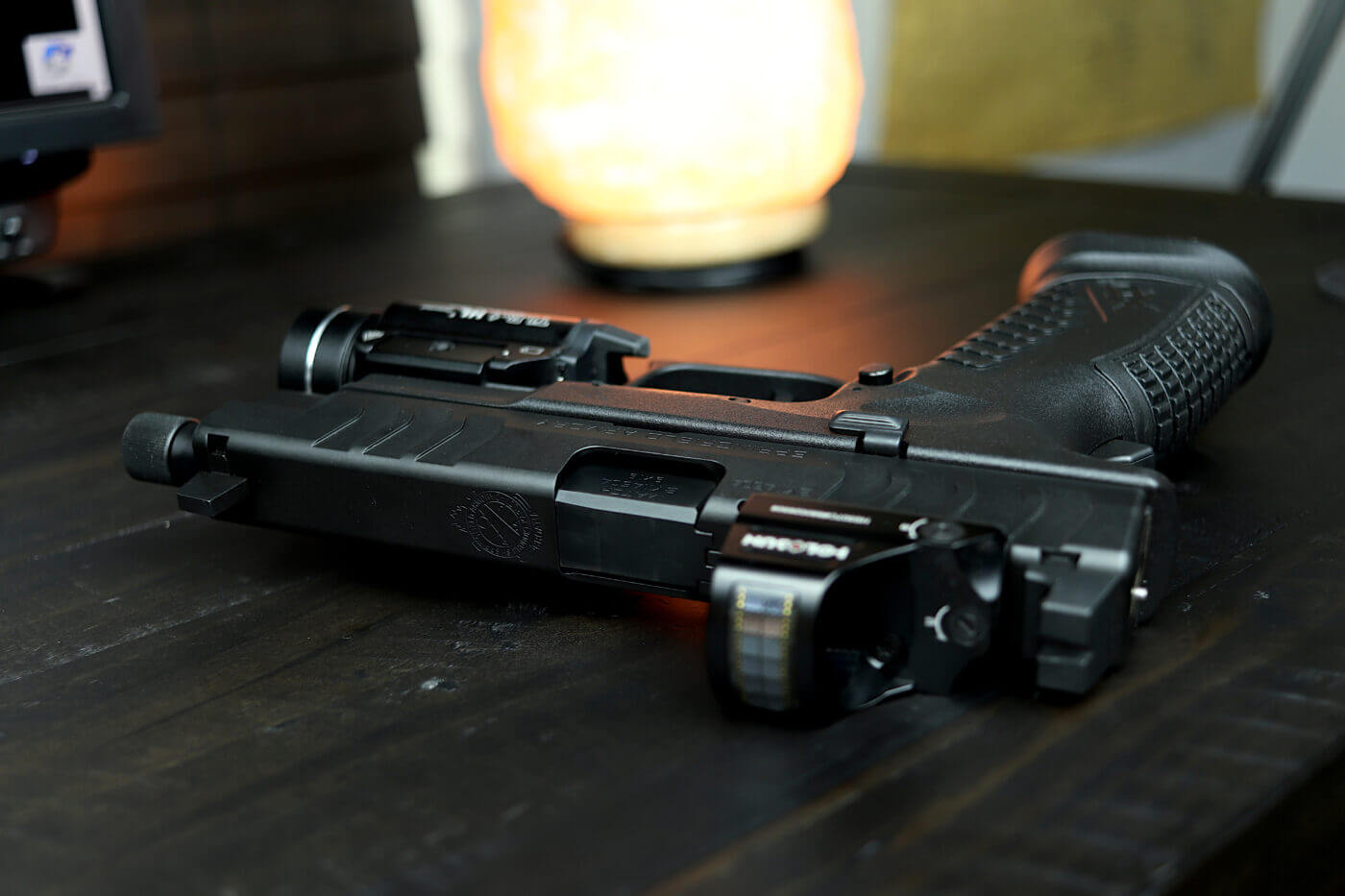 Springfield Armory XD-M Elite Tactical OSP with Streamlight TLR-1 HL