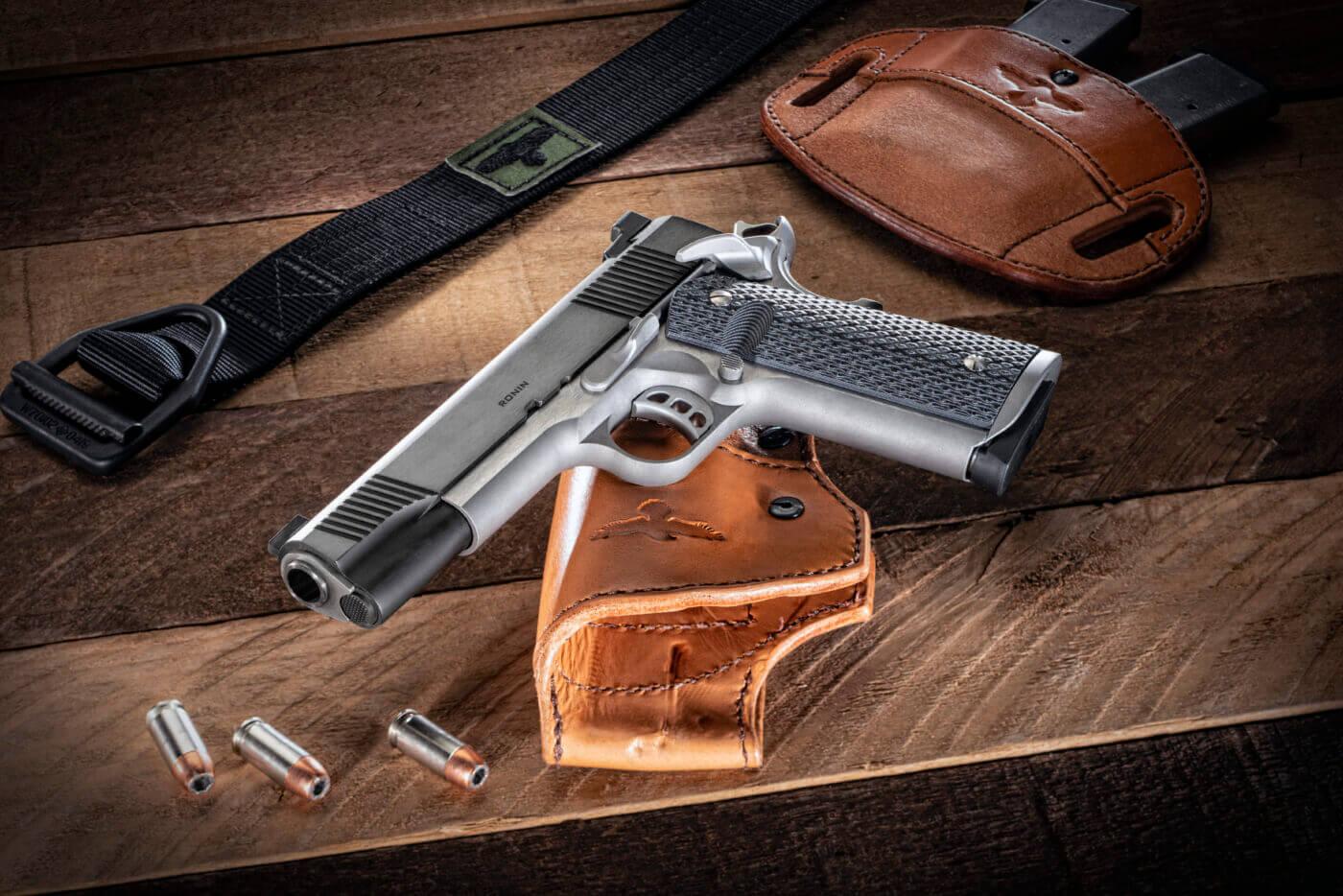 Ronin 1911 pistol with custom upgrades