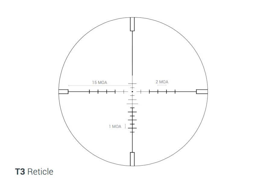 Rudolph Optics T3 Reticle
