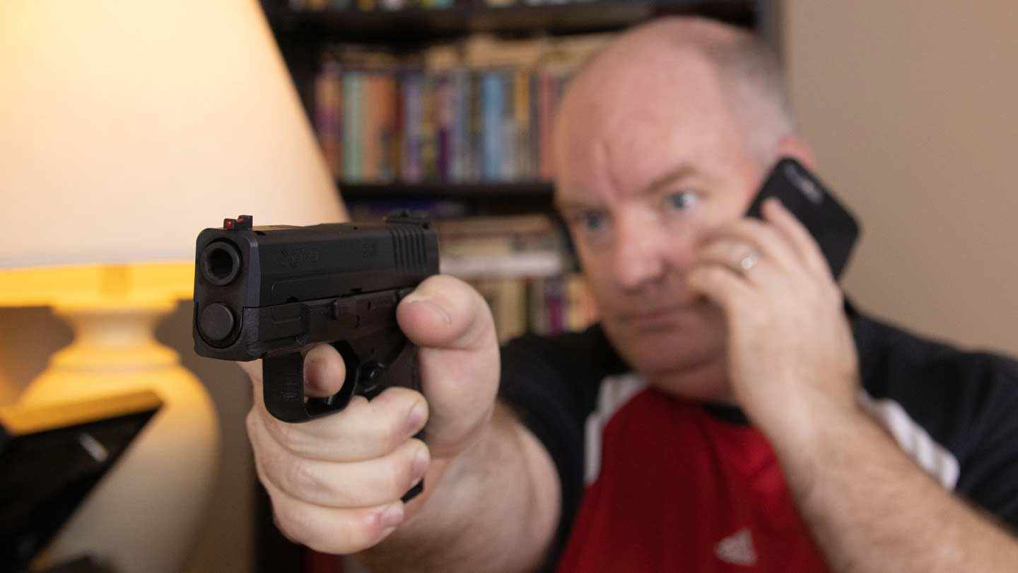 Springfield Armory pistol for home defense