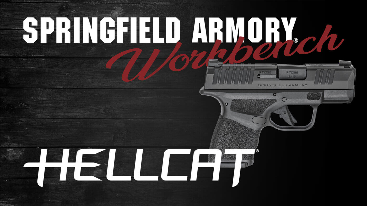 Springfield Armory Workbench banner for Hellcat
