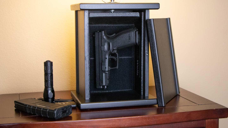 Tactical Walls gun storage solution