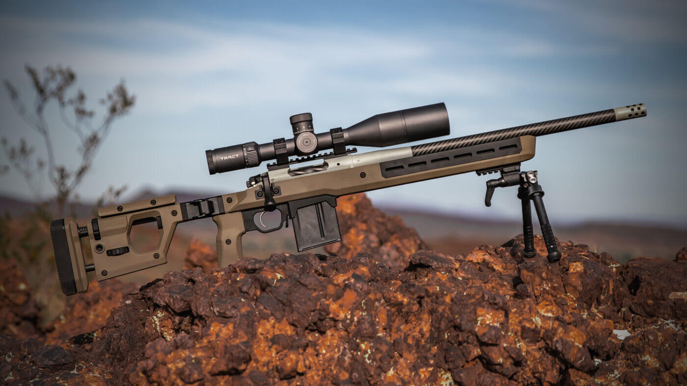 Springfield Armory Waypoint with a Magpul Pro 700 Chassis