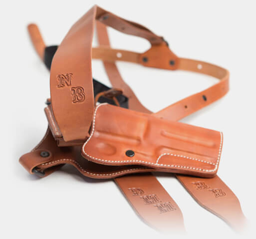 Diamond D Custom Leather Guides Choice Leather Chest Holster