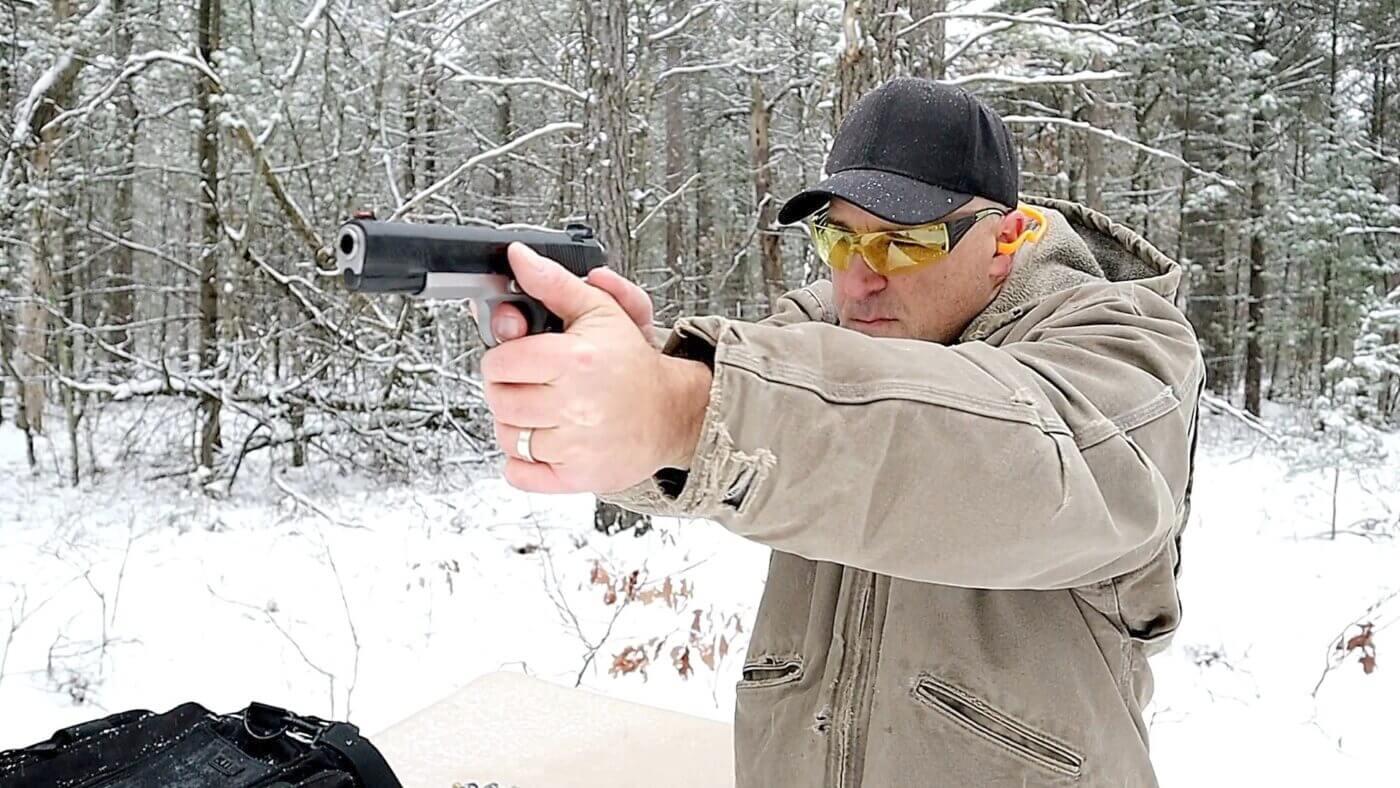 Shooting the Ronin 1911 10mm at 50 yards