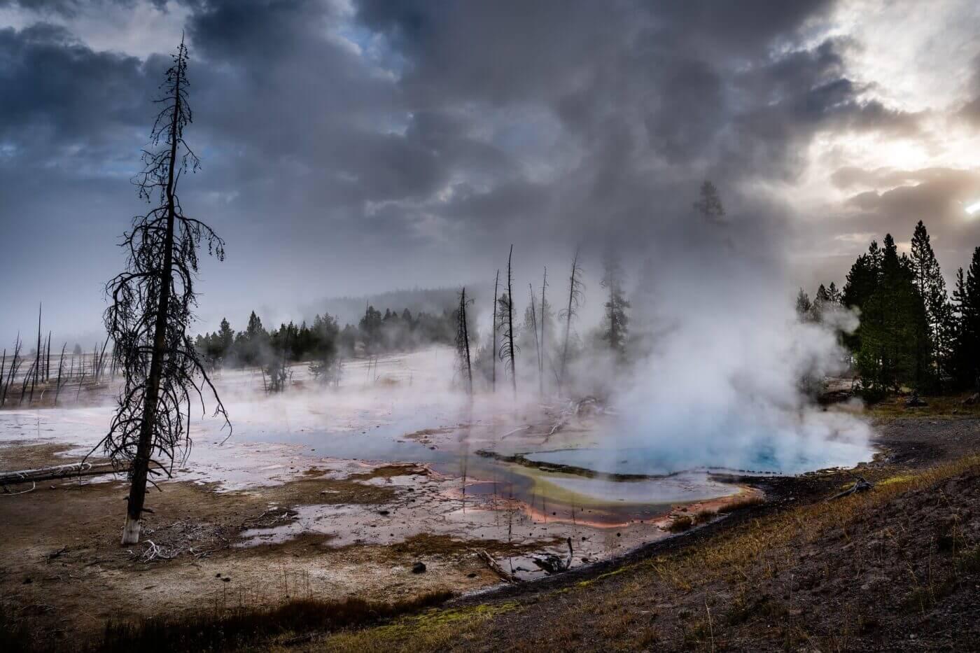 Geothermal heating example