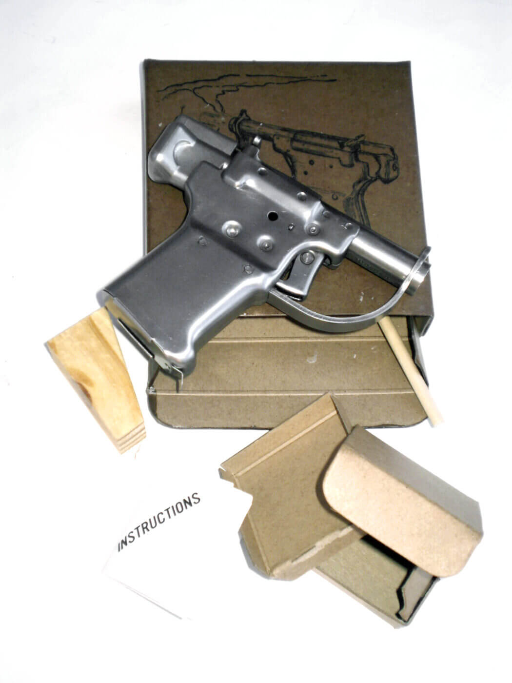 Reproduction Liberator pistol produced by Vintage Ordnance