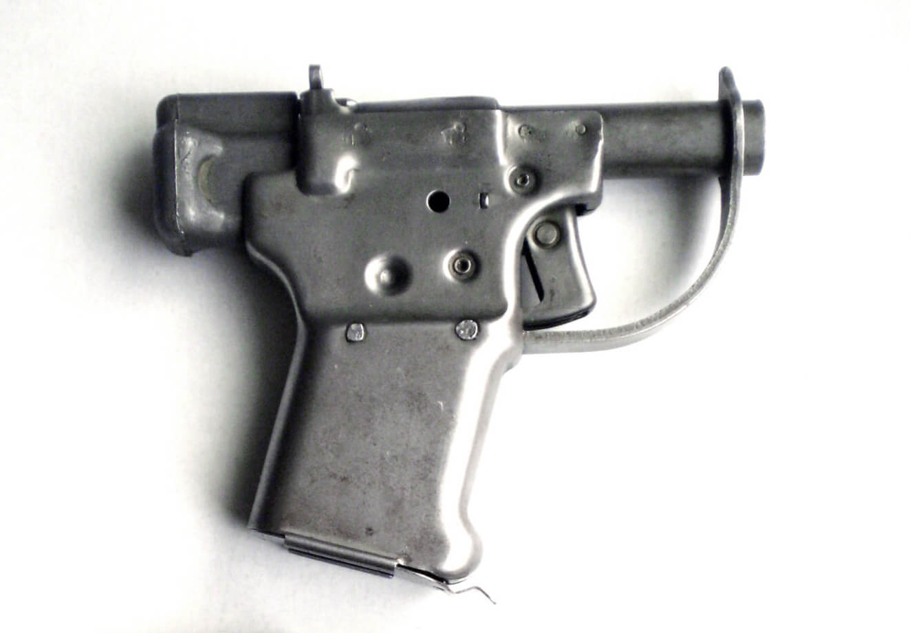 Cheap but reliable FP-45 Liberator pistol