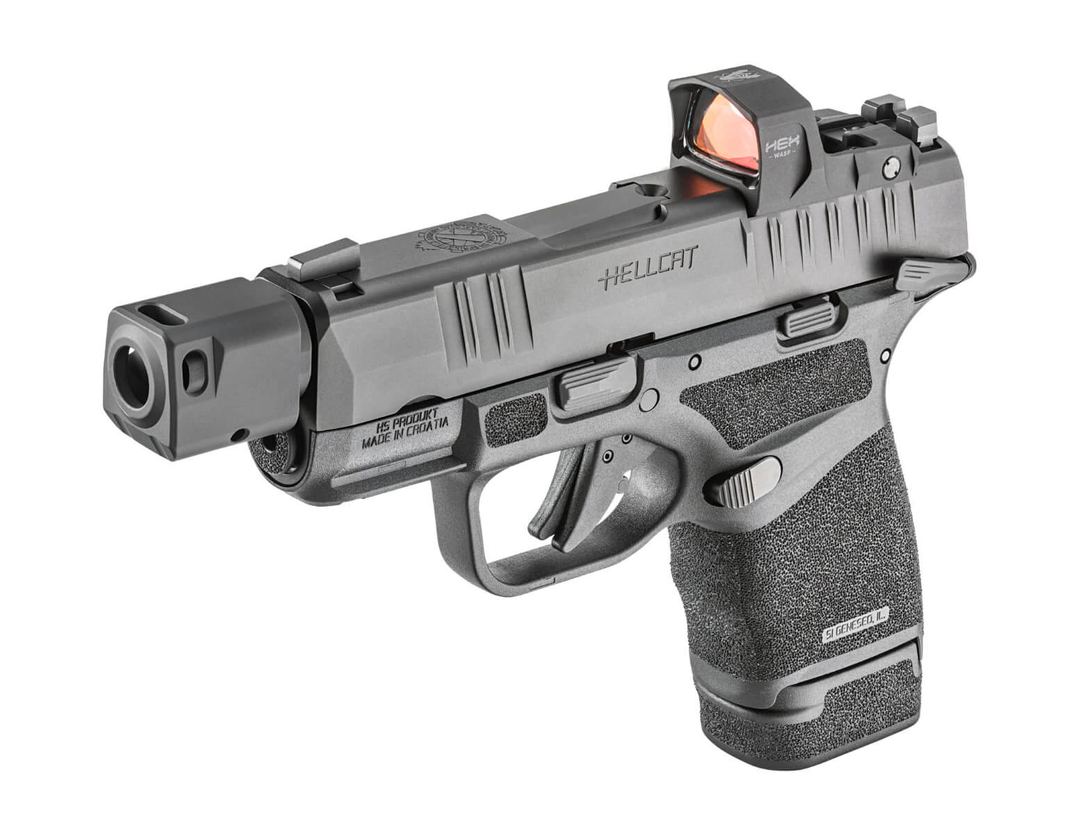 Springfield Armory Hellcat RDP side view