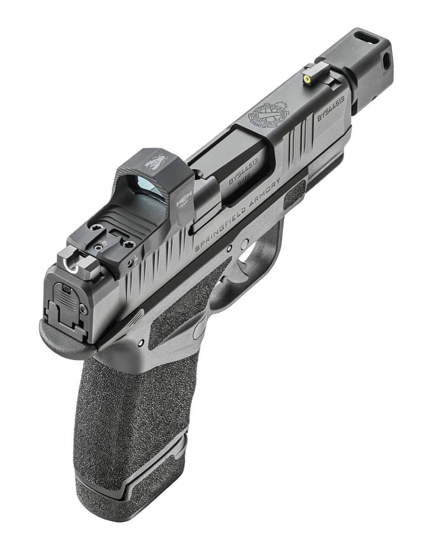 Top view of Springfield Hellcat RDP pistol