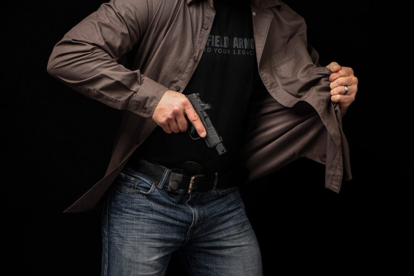 Carrying the Hellcat RDP concealed