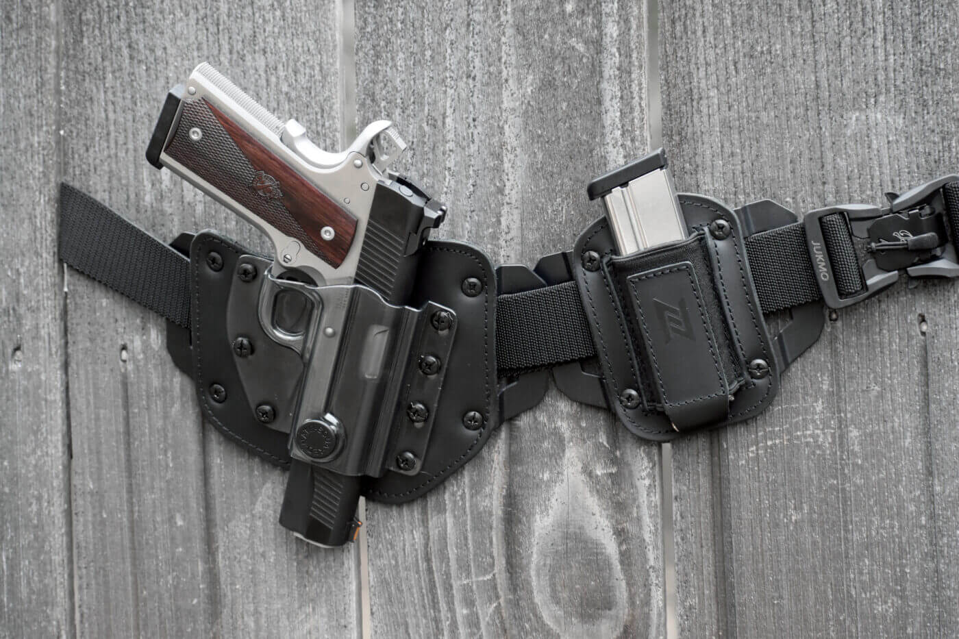 Ronin carried in an N8 holster