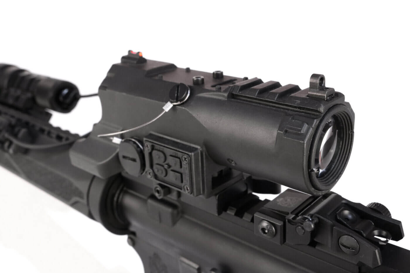 Forward view of the NcSTAR VISM ECO MOD2 optic