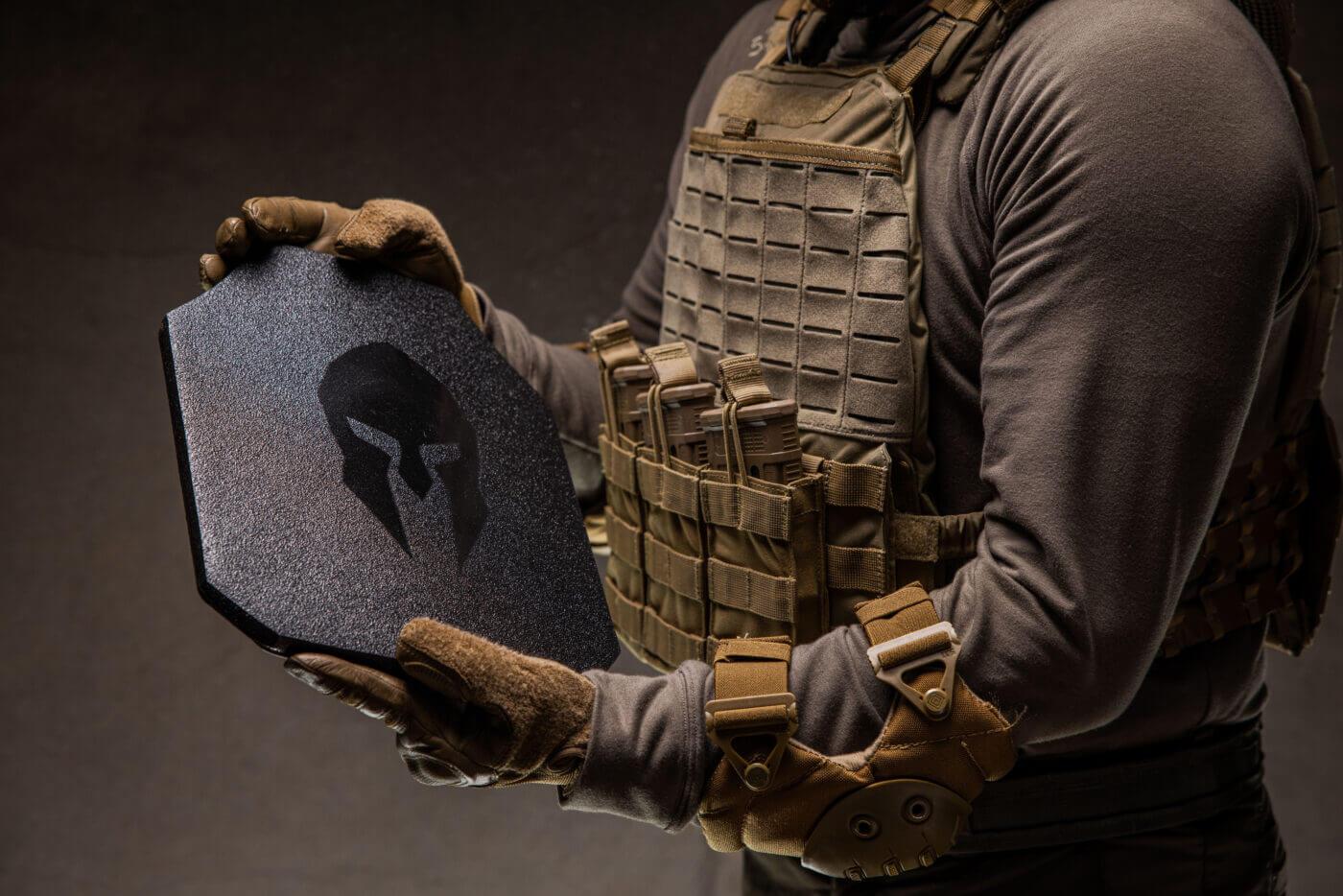 Spartan AR550 hard plate armor