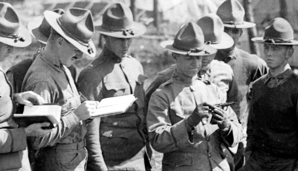 US Army training with the M1911