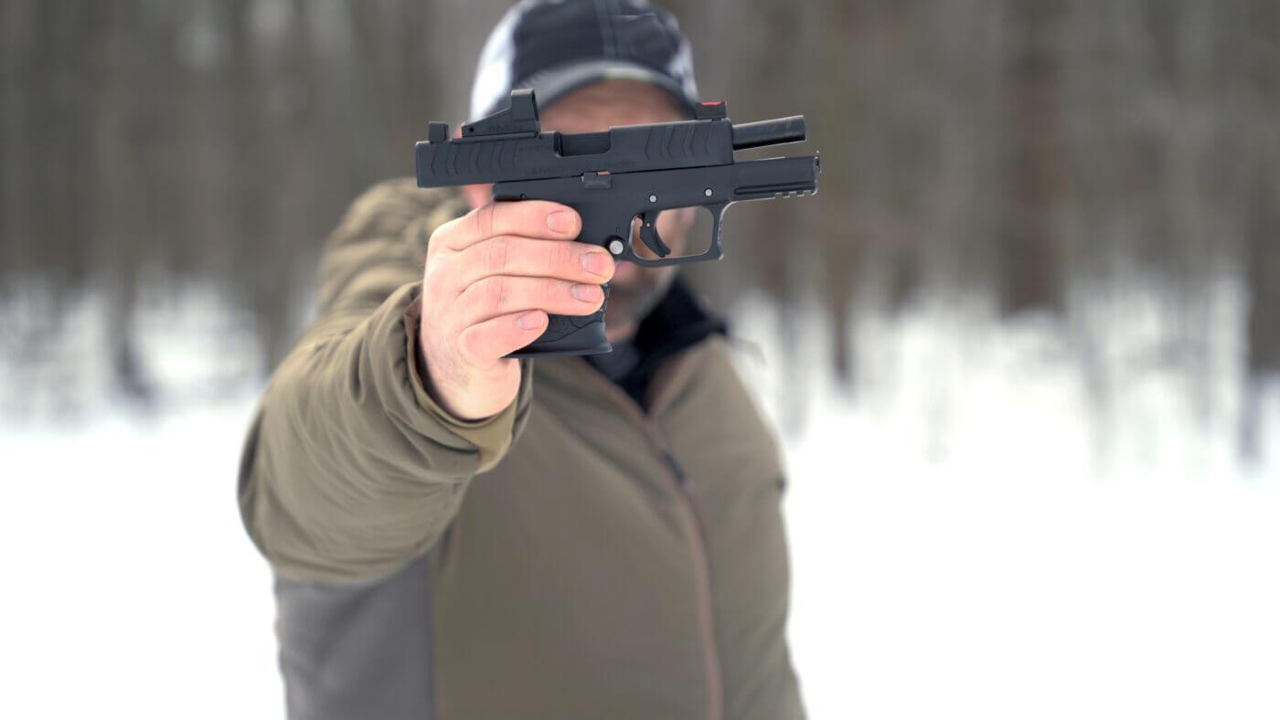 Powder River Precision custom XD-M Elite pistol
