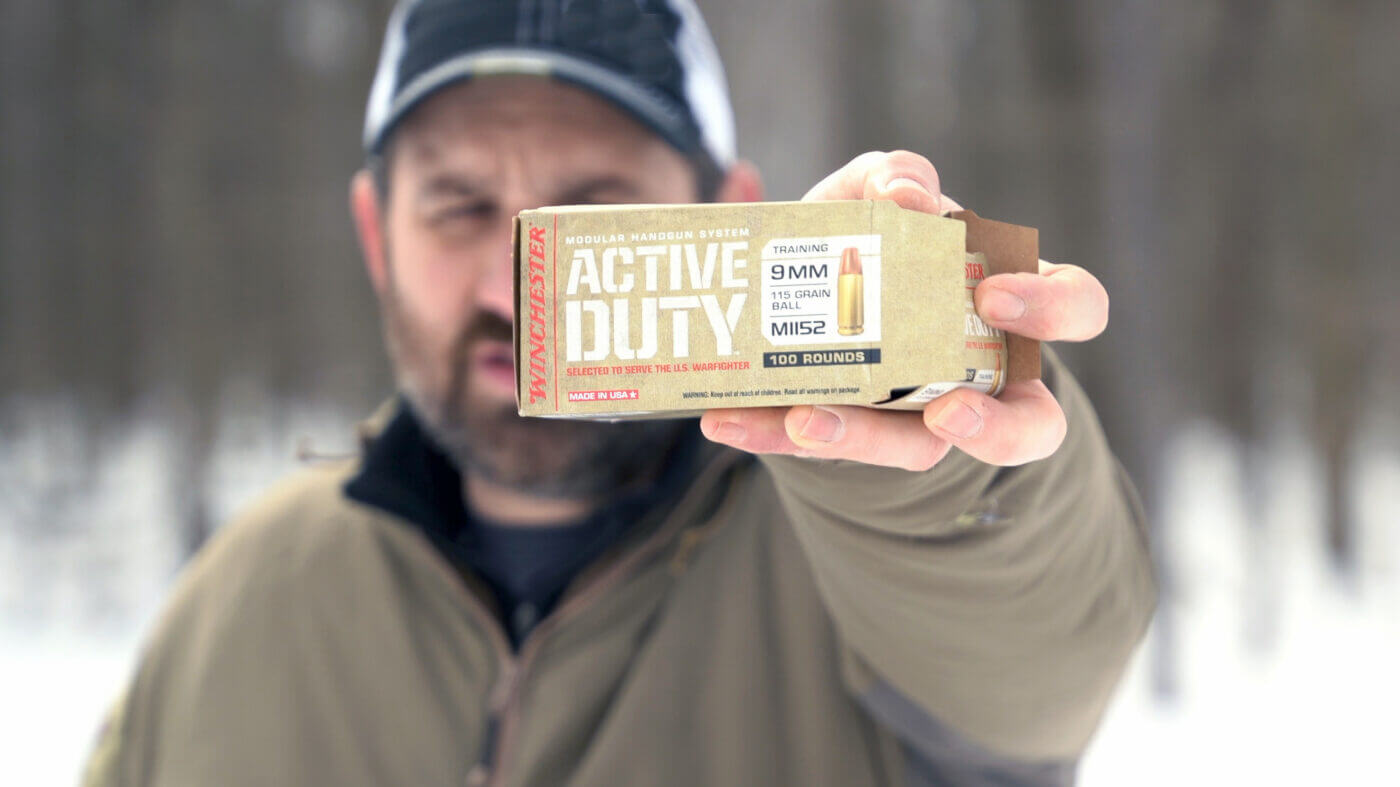 Winchester Active Duty ammo