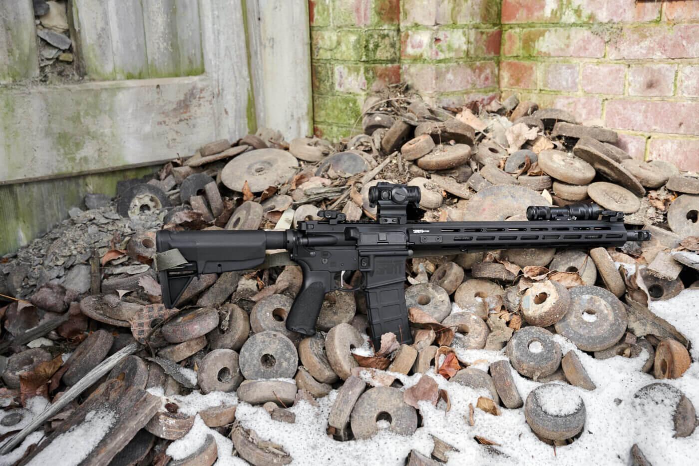 Springfield Armory SAINT rifle testing