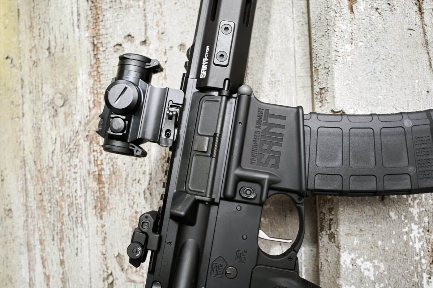 Optics-ready AR-15