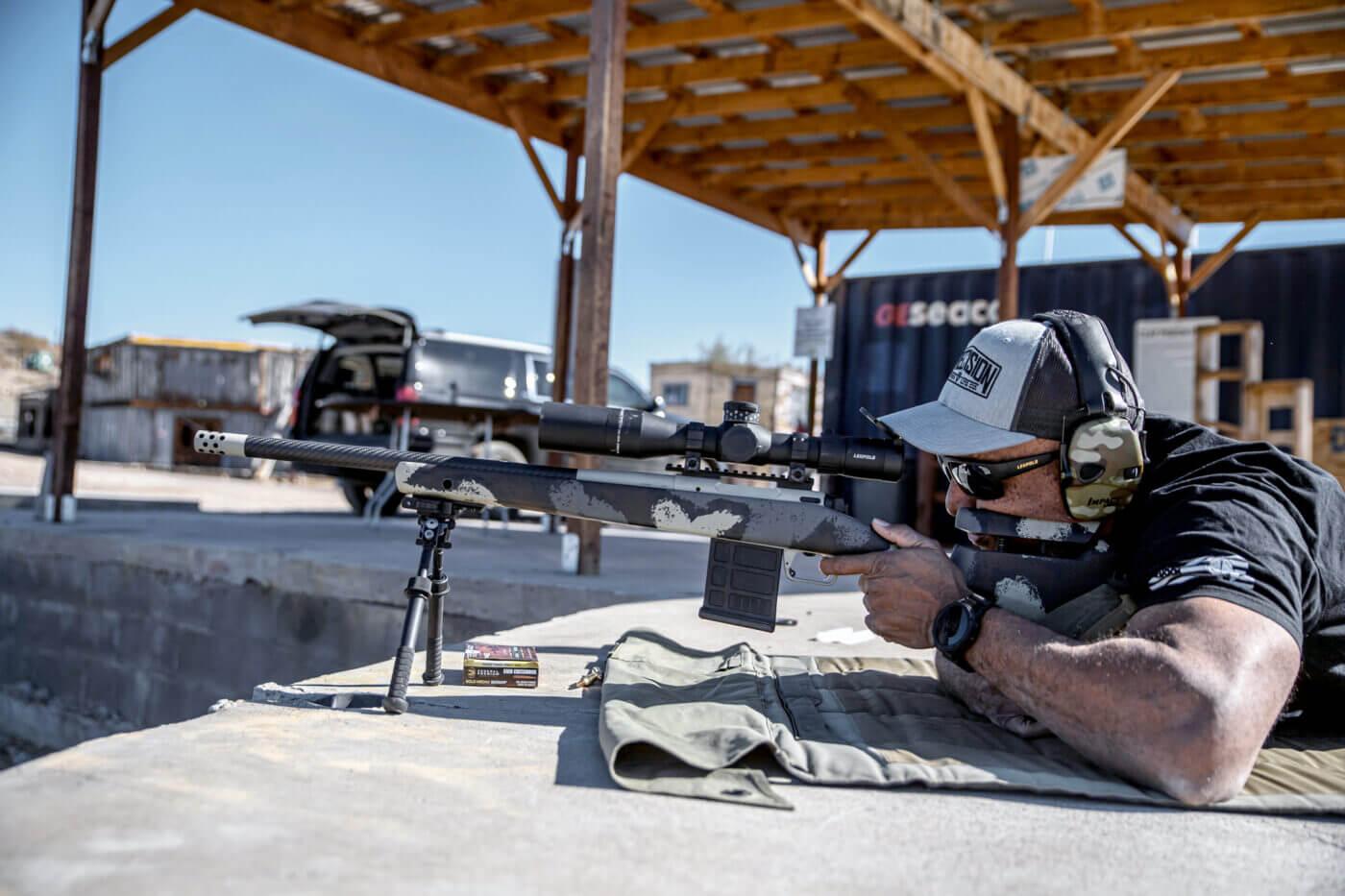 Shooting the Waypoint 6mm Creedmoor rifle