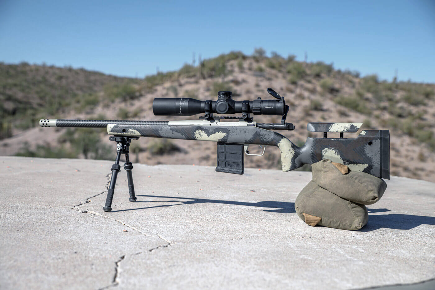 Model 2020 Waypoint fitted with a PRS Atlas Bipod