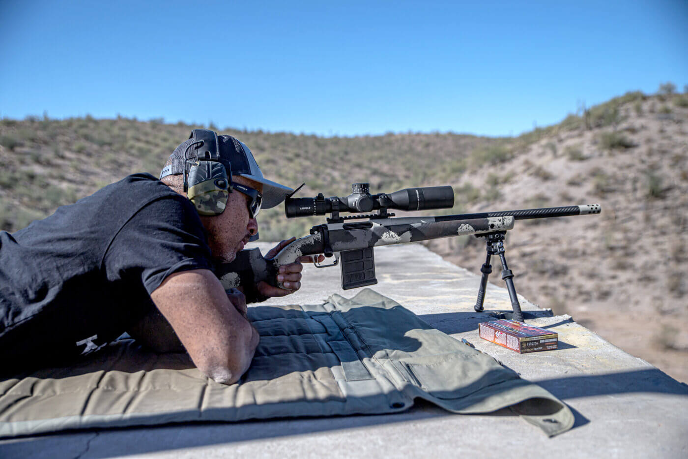 Shooting a Model 2020 Waypoint rifle at 1,000 yards