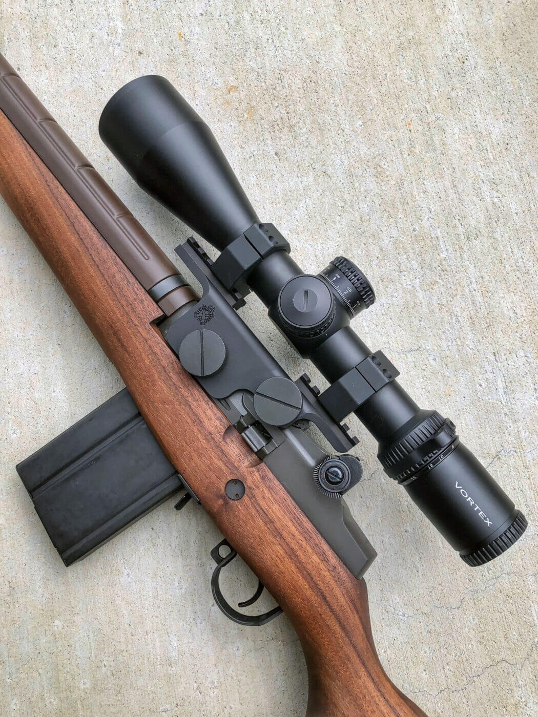 Mounting a scope to the M1A Loaded rifle