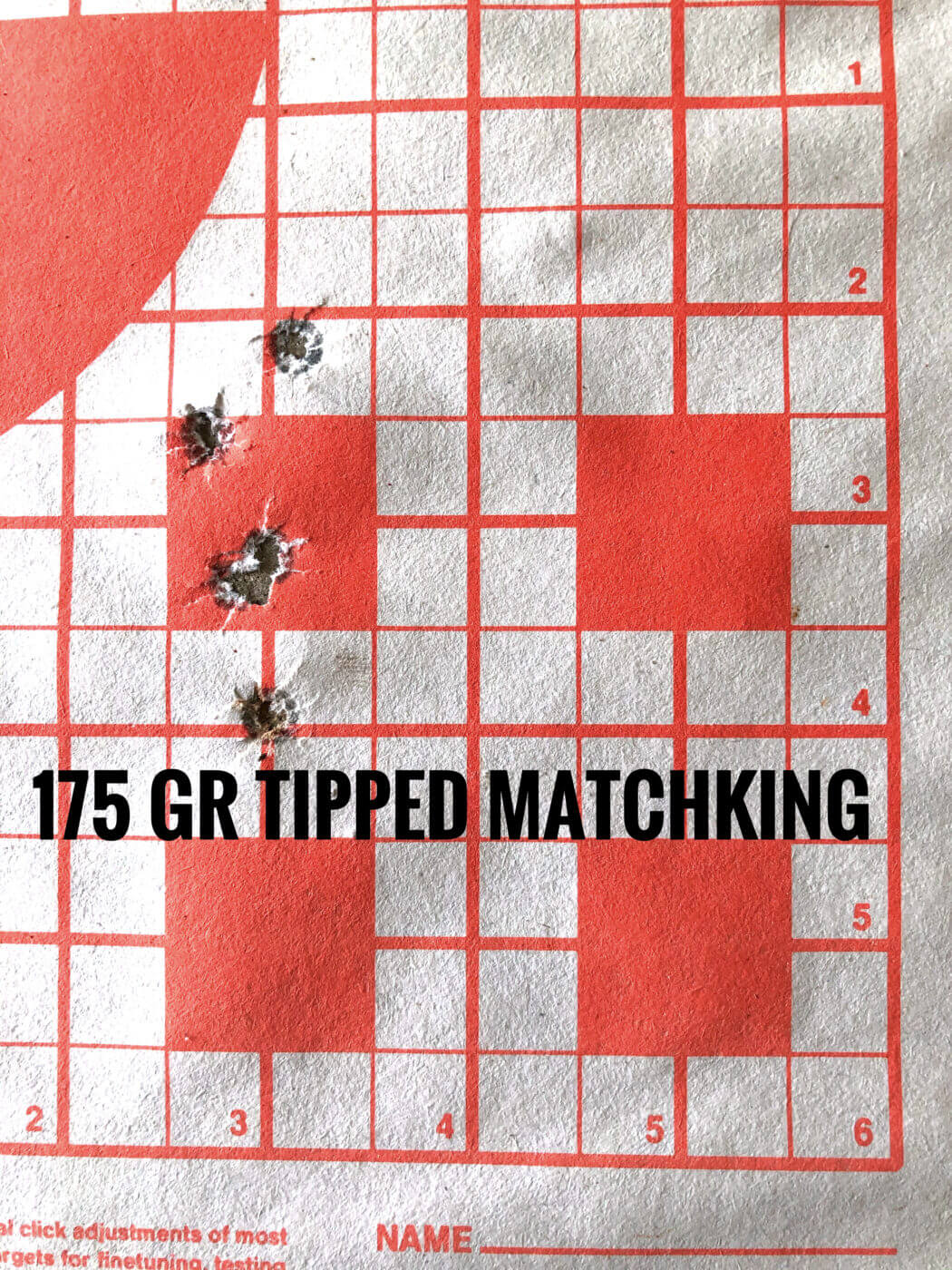 Accuracy testing the M1A Loaded sniper rifle