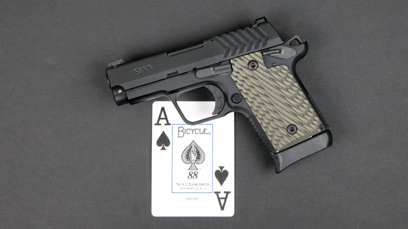 Springfield Armory 911 in 9mm for undercover