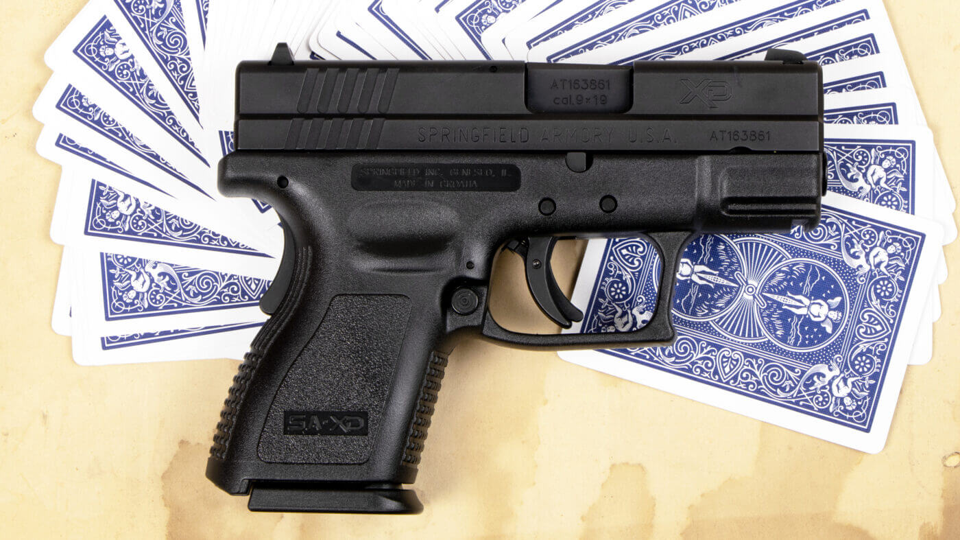 Springfield XD for deep cover work