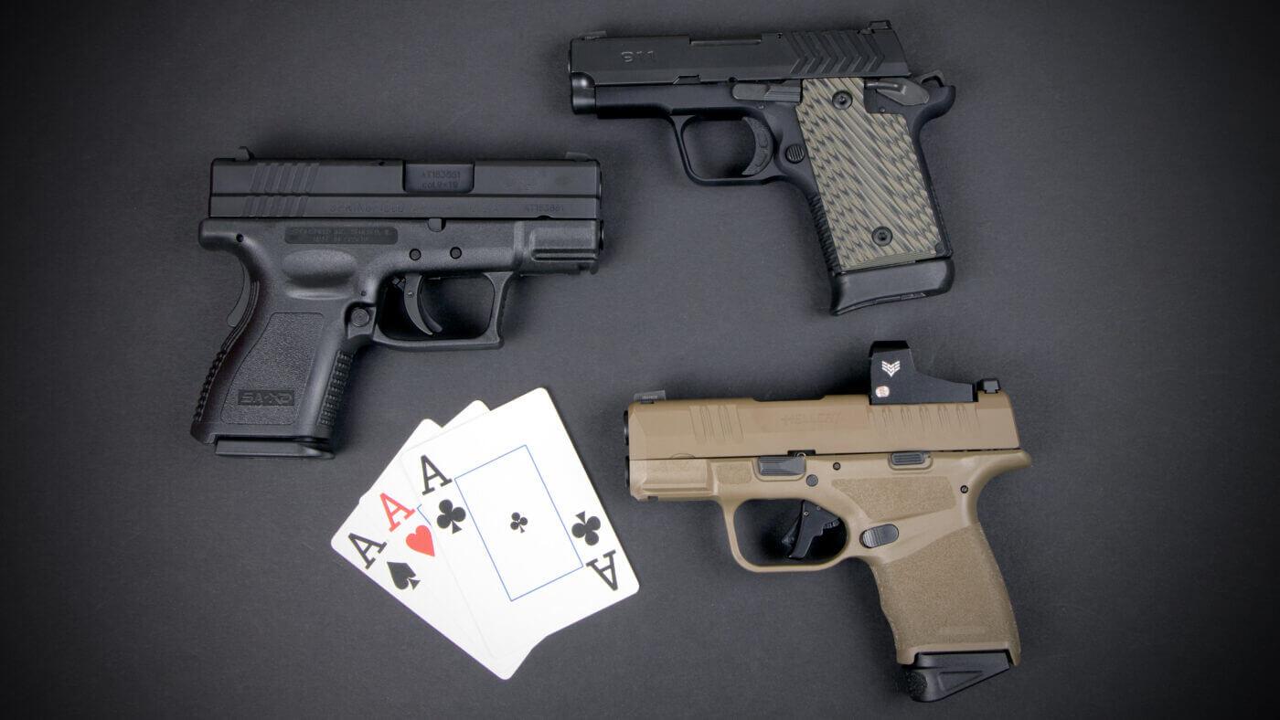 Deep Cover 9mm pistols