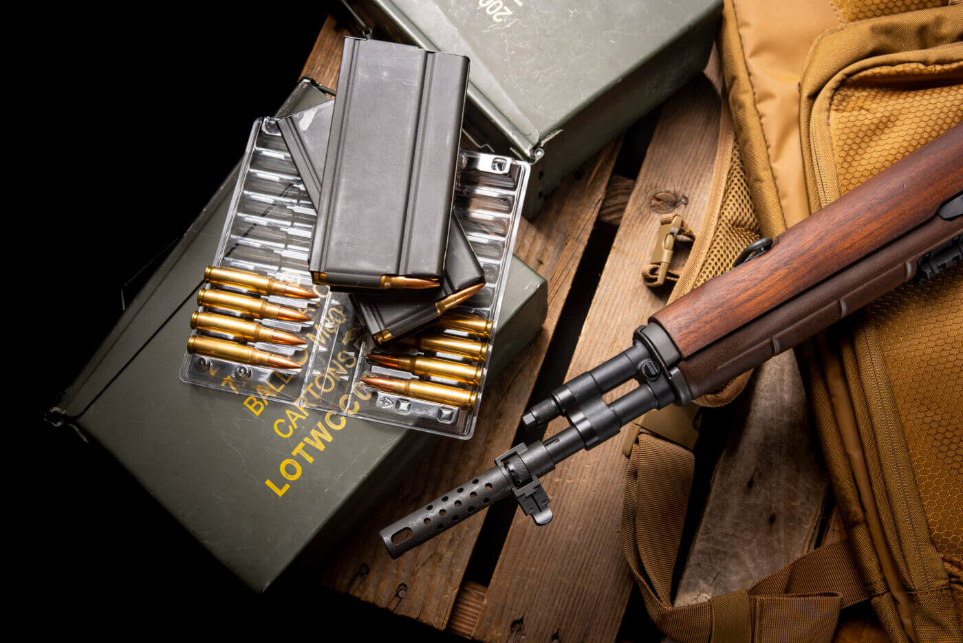 Springfield M1A duty ready
