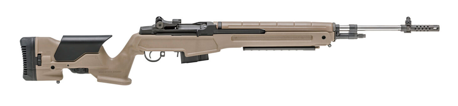 Springfield Armory M1A Loaded Precision FDE with Archangel Stock