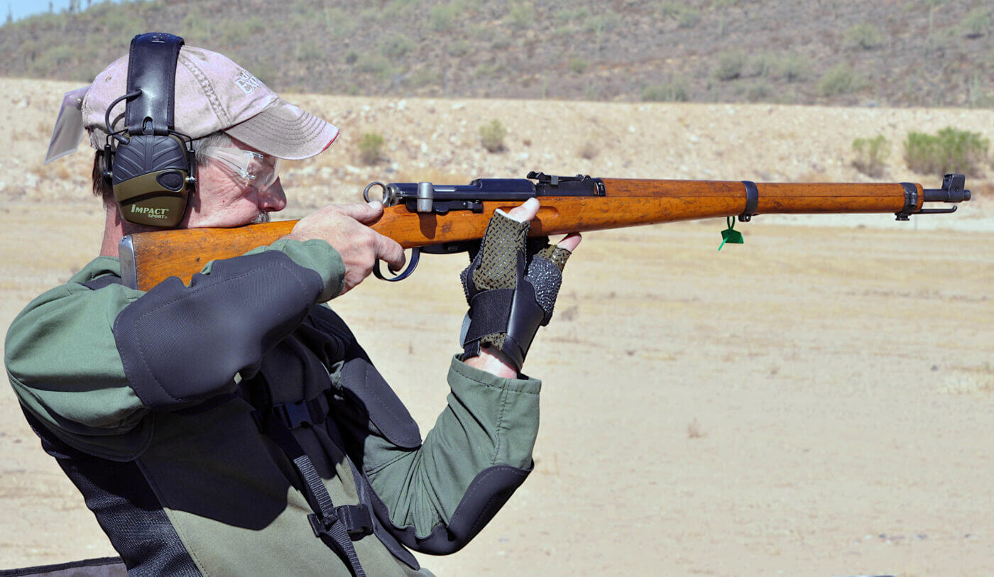 K31 rifle in competition
