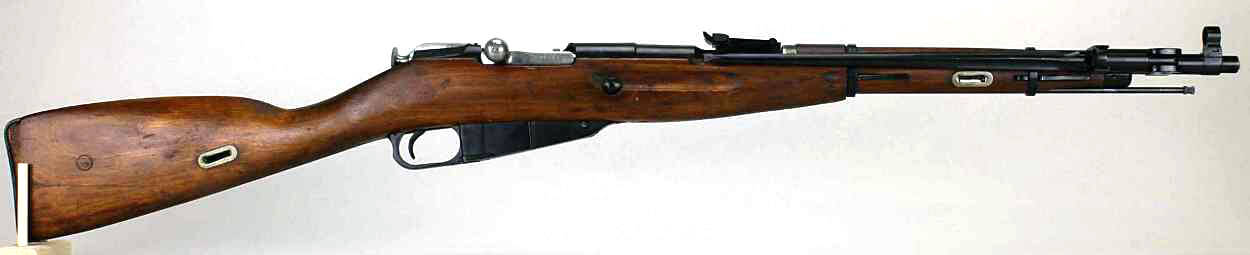 Mosin-Nagant M44 rifle in VMR match