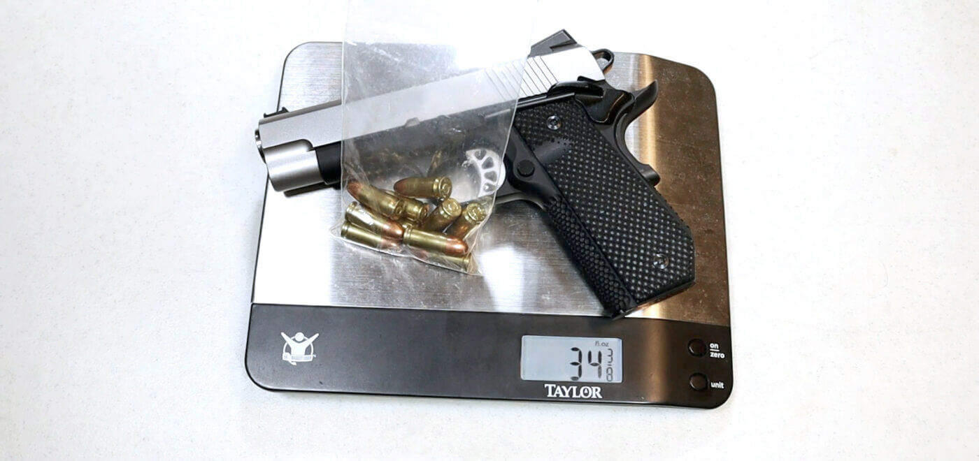Weighing the EMP Champion Concealed Carry Contour
