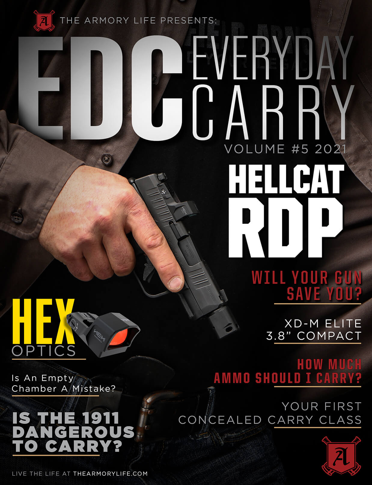Cover for The Armory Life Digital Magazine Volume 5: EDC