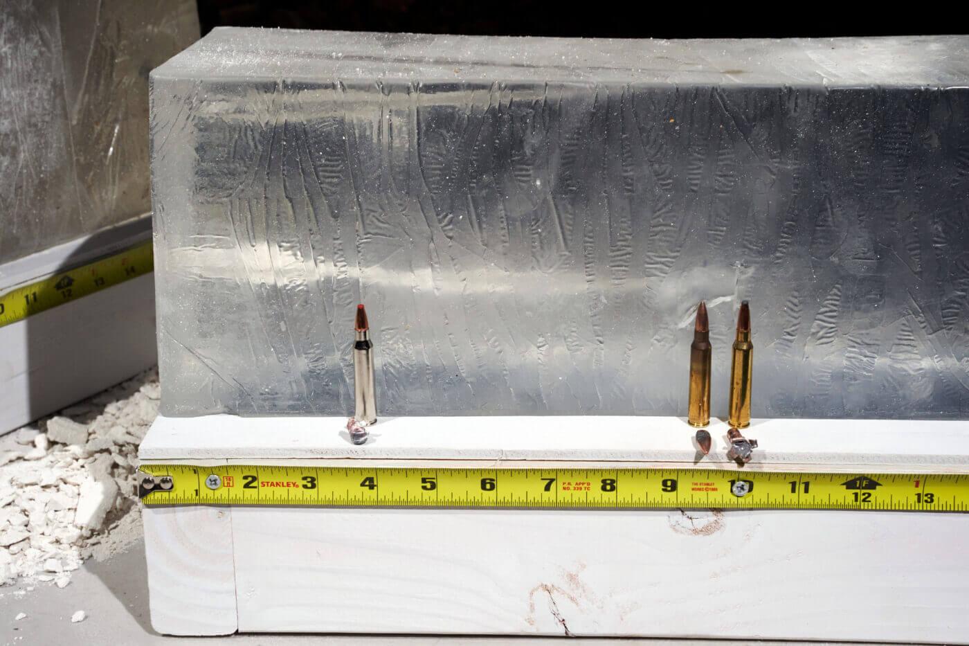 Testing Hornady ammo in gel