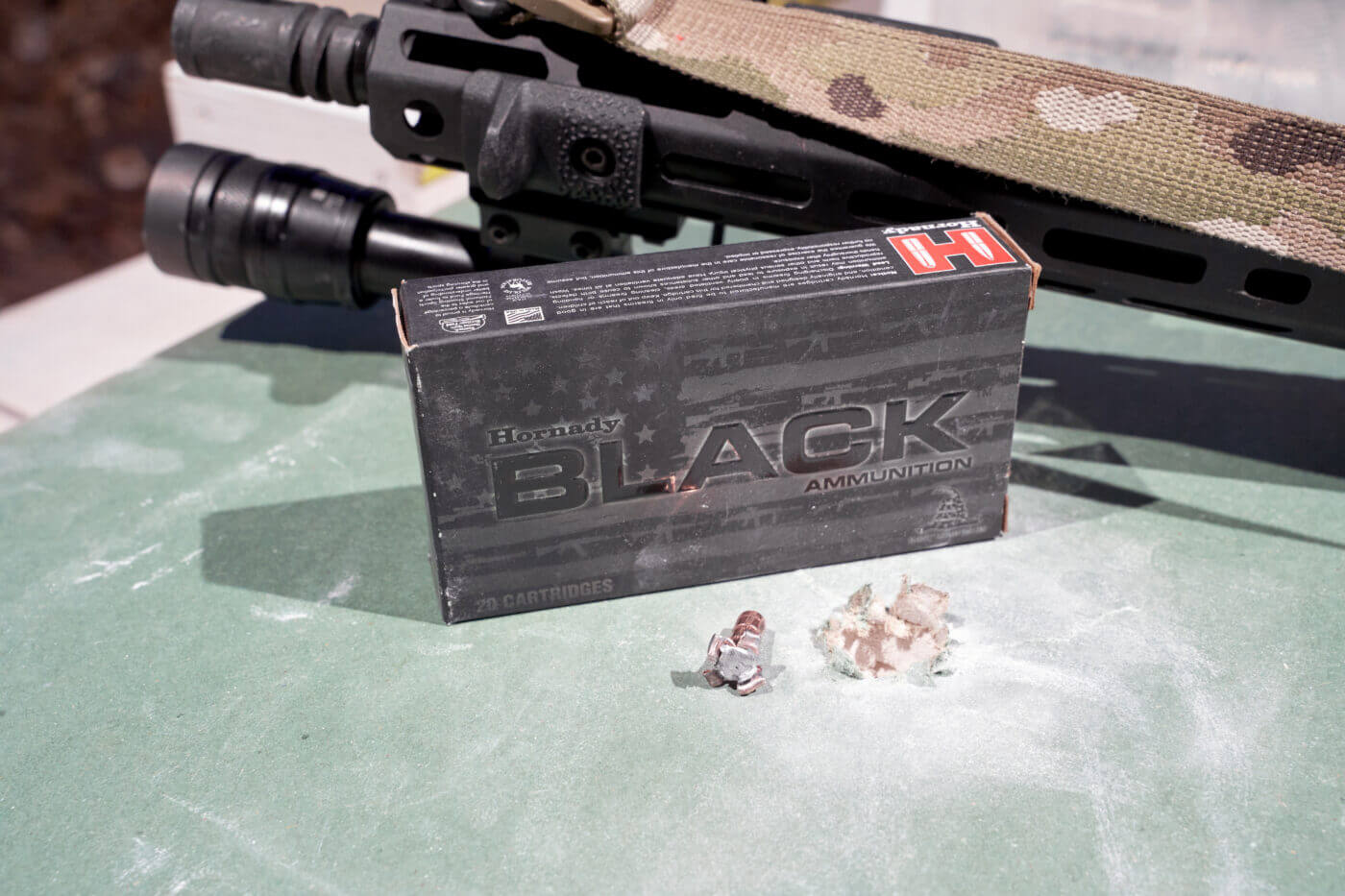 Hornady BLACK 75 grain HD SBR testing