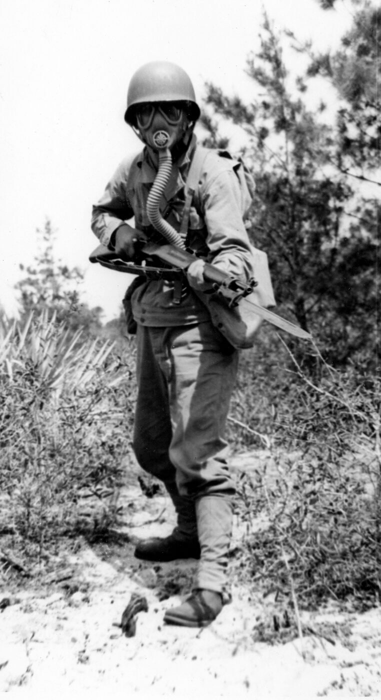 Training with the M1917 in WWII