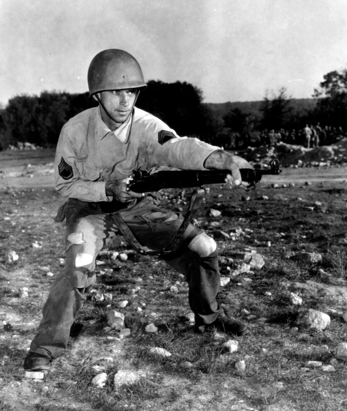 Ft. Hood U.S. Army soldier training